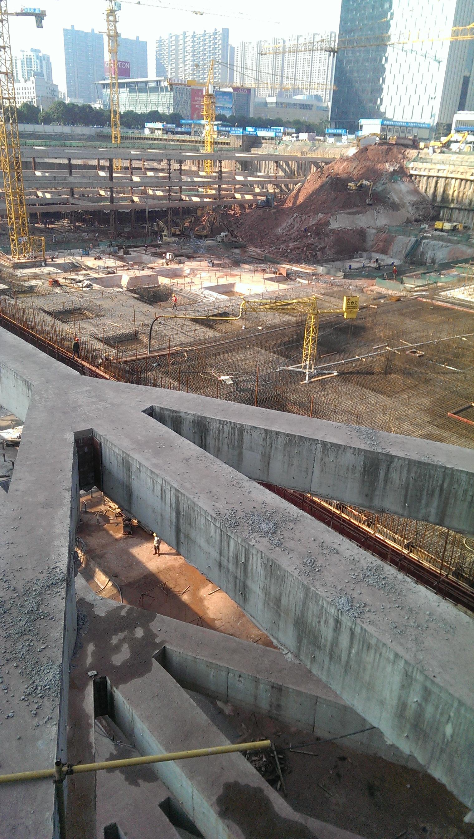 地基基础建设